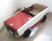 Extremely Rare Vintage Russian Pedal Car Vaz Lada Cccp Russia Soviet Toy