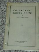 Collecting Greek Coins Szego, Wayte Raymond 1937 15pp Booklet W Pics Rare