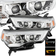 For 14-20 Toyota 4runner Led Drl/signal Chrome Projector Headlights Assembly Set