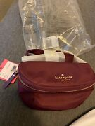 Auth Nwt Womenand039s Kate Spade Watson Lane Betty Belt Bag Fanny Pack In Rich Navy