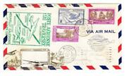 Neuf Caledonia Sc148 C4 174-good Franking-transpacific Clipper-first