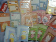18 Packs Old And Rare Hello Kitty New Letter Set Sanrio Mexico China Vintage
