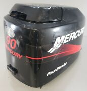827328t9 Mercury 2000-06 Top Engine Hood Cover Cowling Cowl 75 90 115 Hp 4s