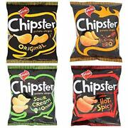 Twisties Chipster Hot And Spicy, Original, Flaming Bbq 60 G