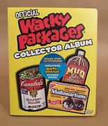Official Wacky Packages Collector Album W/ 101 Stickers • Topps • Flopps   Graft