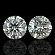 2 Pcand039s 0.40 Ct Best Quality Gem With G-h Color Si Clarity Loose Diamond N31lt55