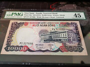 1975 South Vietnam P 36a 10000 Dong Buffalorare Unissued Note Not Specimen