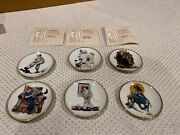 The Best Of Norman Rockwell - Miniature Plate Lot Of 24 Boxes Mostly Unopened