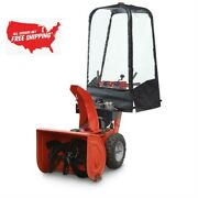 Snow Blower Cab Cleaner Freeze Resistant Single/2 Stage Garden Yard No-drill