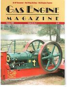 Dunn Engine 50 Hp Bessemer Webster Magnetos Scale 5 Hp Red Wing - Worthington