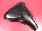 Wwi German Leather Holster For Luger P08 Pistol - Converted Artillery Holster