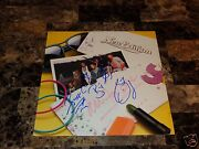 New Edition Rare Band Signed All For Love Record Bobby Brown Bell Biv Devoe Randb
