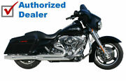 Chrome Thunderheader 2 Into 1 Exhaust Header Pipe System 17-21 Harley Touring M8