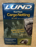 Lund Roof Cargo Carrier Bungee Netting With Hooks 34'x40