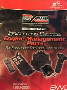 2004 Borg Warner Ignition And Electrical Systems Parts Guide Catalog Manual