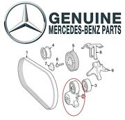 Genuine Accessory Drive Belt Tensioner Assembly For Mercedes C216 W166 W212