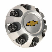 🔥genuine Gm Wheel Hub Center Cap Cover Silver With Gold Bowtie For Chevrolet🔥