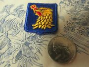 Vtg. Post Wwii Us Air Force 509th Bomb Wing Defensor Vindex Hat Collar Patch