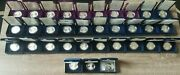 Complete Set 1986-2020 American Silver Eagle Proof 1 Oz Box And Coa Collection