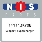 141113ky0b Nissan Support-supercharger 141113ky0b, New Genuine Oem Part