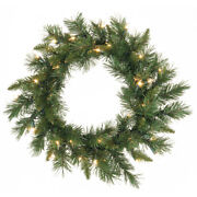 Vickerman 24 Imperial Pine Artificial Christmas Wreath With 50 Multi-colored...