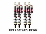 Elka Stage 3 Front And Rear Shocks Suspension Kit Yamaha Grizzly 700