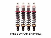 Elka Stage 1 Front And Rear Shocks Suspension Kit Yamaha Grizzly 700 2007-2013