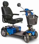 New Pride Mobility Victory 10 Lx W/cts Suspension 4-wheel Electric Scooter S710