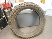 Nos Vintage Tire Goodyear Eagle Mx 2 Ply Tube Type Load B Knobby 3.00-14