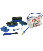 Childrenand039s Kit With Brushes And Tools For Cleaning The Horse Tattini
