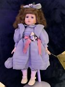 Vintage Seymour Mann 20 Limited Edition Porcelain Doll, Stand Included. Paige