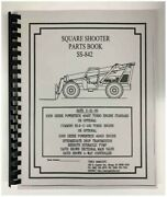 Terex Ss-842 Extendo Boom Square Shooter Forklift Parts Manual
