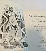 Foundation Press Tales Of Mystery And Imagination Edgar Allan Poe 1965 Pristine