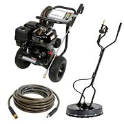 Gas Pressure And Surface Washer - Cold Water - 4200 Psi - 4 Gpm - Aaa Pump - Honda