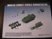 Stryker Light Armored Vehicles Data Sheet / General Dynamics / New Military