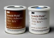 3m Scotch-weld 3501 Part B/a Epoxy Adhesive Kit 1 Liquid Pint Container Gray