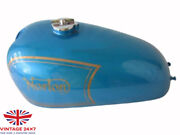 Norton Ajs Matchless G12 Csr Competition Blue Aluminum Petrol Tank Fits For