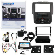 Pac Rpk4-ch4101 Radio Replacement Interface Kit For Ram With 8 Display
