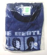 The Beatles Brand New L T-shirt With Picture Of The 4 Beatles On Front 2005