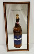2003 Chimay Peres Trappistes Grande Reserve Beer 3d Mirror Bottle Sign 9x19
