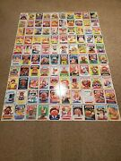 2020 Garbage Pail Kids Series 1 Late To School 5x7 Complete Base Set And039d 27/49