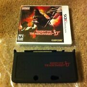 Resident Evil The Mercenaries 3ds W Limited Case 1000