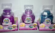 3 Pikmi Pops Cheeki Puffs Series 5 Scented Shimmer Plush Bundle Of 3 Small Packs