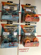 Spin Master Monster Jam 1/64 Fire And Ice Dragonoid Soldier W Northern Nightmare