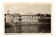 Cheticamp, Nova Scotia, Canada, Town And Acadian Inn From The Water C 1930's