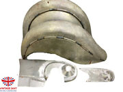 Indian Chief Front And Rear Raw Fender Mudguards + Chain Guard Post War  fit For