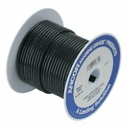 Ancor Ultra Flexible Type 3 Tinned Copper Wire 10 Awg 250 Feet Black 108025