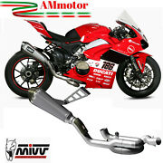 Exhaust Mivv Ducati Panigale V4 2018 Motorcycle Manifolds Collector Titanium Evo