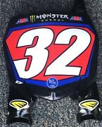 Justin Cooper 32 Star Racing Yamaha Motocross Replica Front Number Plate - Red
