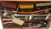 Vintage Cragstan 5 Piece Freight Train Set Battery Operated 1950s To 1960s
